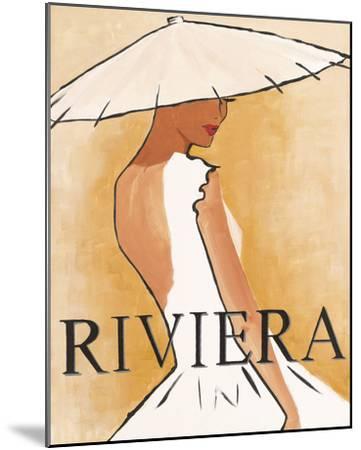 Riviera-Juliette McGill-Mounted Giclee Print