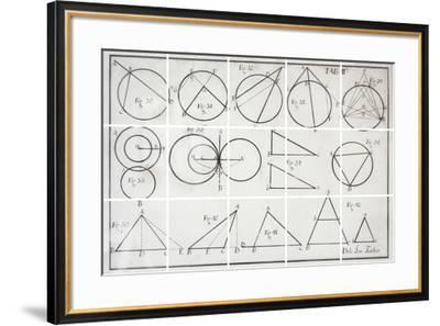 Geometry-Chris Dunker-Framed Giclee Print