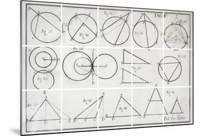 Geometry-Chris Dunker-Mounted Giclee Print