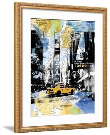 Urban Sights III-Alan Lambert-Framed Giclee Print