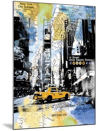Urban Sights III-Alan Lambert-Mounted Giclee Print