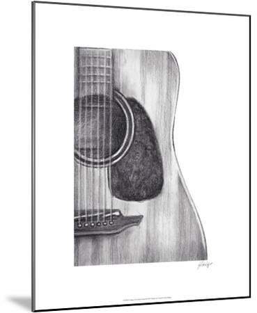 Stringed Instrument Study III-Ethan Harper-Mounted Limited Edition