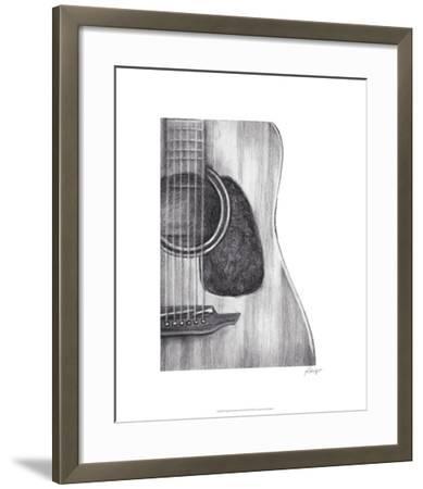 Stringed Instrument Study III-Ethan Harper-Framed Limited Edition