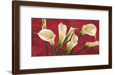 Calle in rosso-Serena Biffi-Framed Art Print