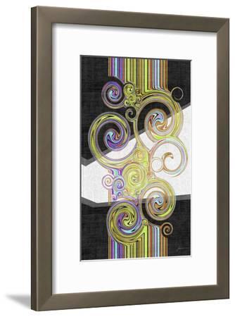 Twirl IV-James Burghardt-Framed Art Print