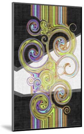 Twirl IV-James Burghardt-Mounted Art Print