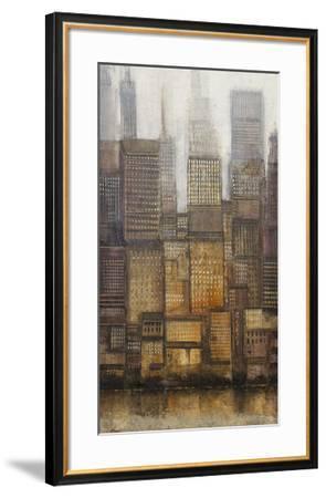 Uptown City II-Tim OToole-Framed Art Print