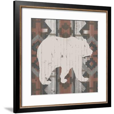 Southwest Lodge Silhouette III-Vision Studio-Framed Art Print