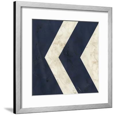 Seaside Signals VI-June Vess-Framed Giclee Print