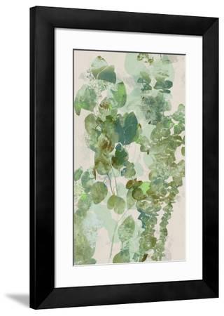 Watercolor Eucalyptus II-Jennifer Goldberger-Framed Art Print