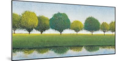 Trees in a Line I-Tim OToole-Mounted Art Print