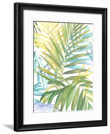 Tropical Pattern I-Megan Meagher-Framed Giclee Print