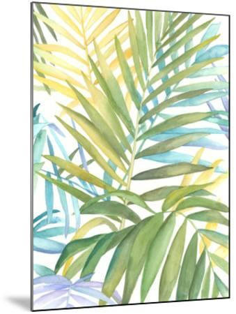 Tropical Pattern I-Megan Meagher-Mounted Giclee Print