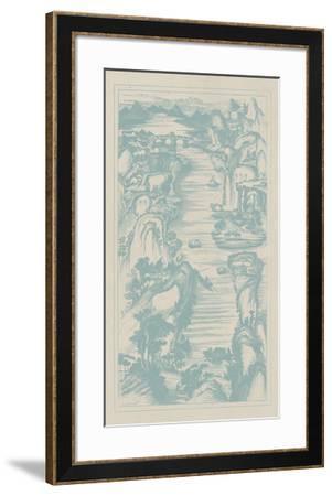 Chinese Bird's-eye View in Spa II-Vision Studio-Framed Giclee Print