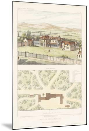 Habitations Modernes I-A^ Morel-Mounted Giclee Print