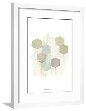 Honeycomb Reaction I-June Vess-Framed Art Print