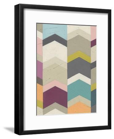 Confetti Prism III-June Vess-Framed Art Print