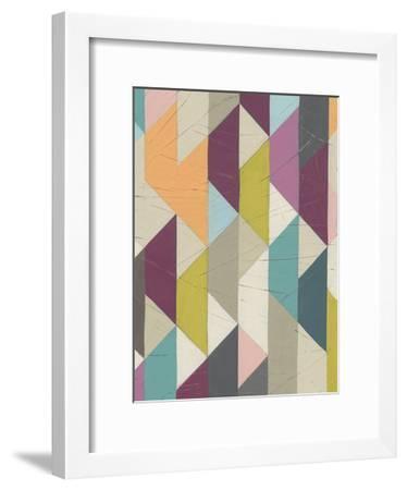 Confetti Prism IV-June Vess-Framed Art Print