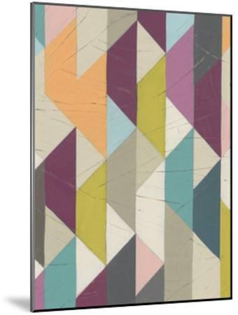 Confetti Prism IV-June Vess-Mounted Art Print
