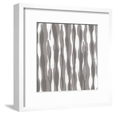 Pattern Waves II-Jennifer Goldberger-Framed Art Print