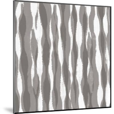 Pattern Waves II-Jennifer Goldberger-Mounted Art Print