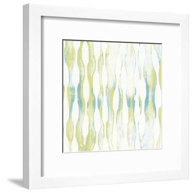 Pattern Waves IV-Jennifer Goldberger-Framed Art Print