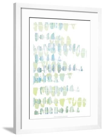 Connect the Dashes II-Jennifer Goldberger-Framed Art Print