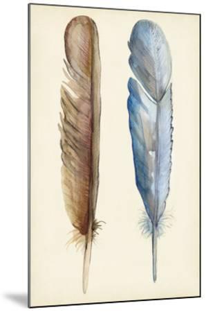 Plumage I-Alicia Ludwig-Mounted Giclee Print