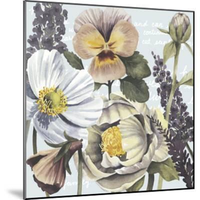 Garden Submergence II-Grace Popp-Mounted Art Print