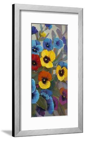 Pansy Panel III-Tim OToole-Framed Art Print