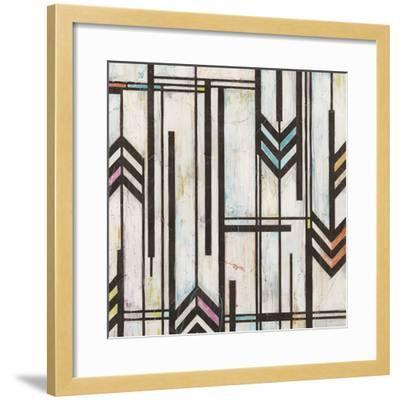 Deco Abstraction II-June Vess-Framed Art Print