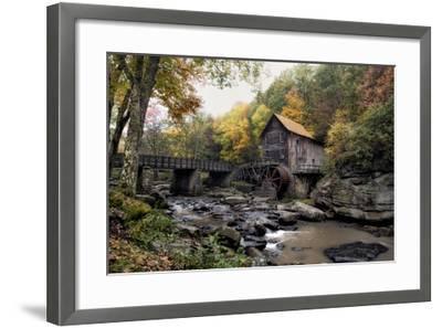 Glade Creek Mill-Danny Head-Framed Giclee Print