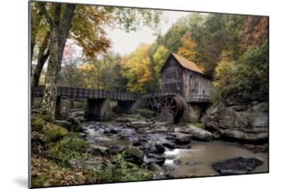 Glade Creek Mill-Danny Head-Mounted Giclee Print