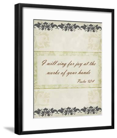 More Than Words VI-Studio W-Framed Art Print