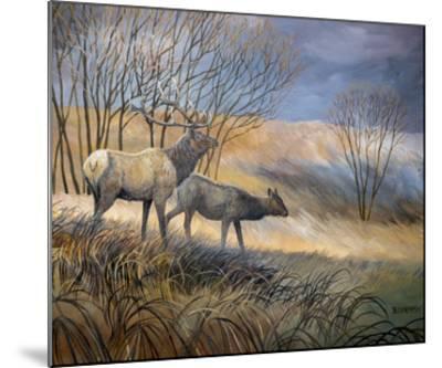 Elk Journey I-B^ Lynnsy-Mounted Art Print