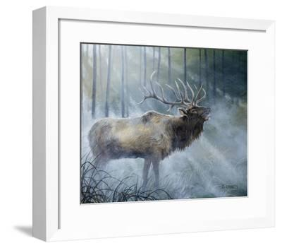 Elk Journey III-B^ Lynnsy-Framed Art Print