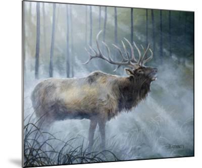 Elk Journey III-B^ Lynnsy-Mounted Art Print