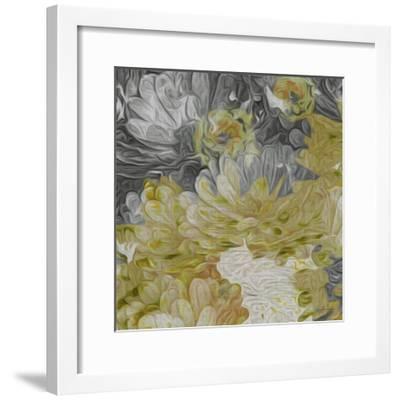 Mums in Sun III-James Burghardt-Framed Art Print