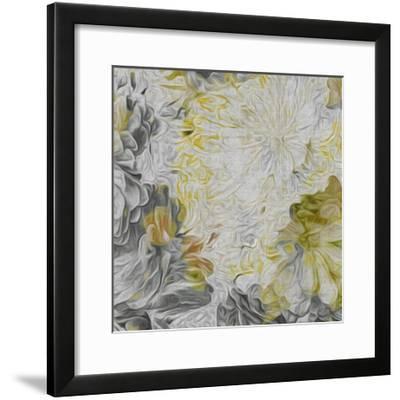 Mums in Sun IV-James Burghardt-Framed Art Print