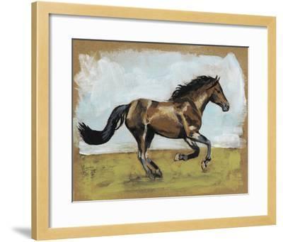 Equestrian Studies I-Naomi McCavitt-Framed Giclee Print