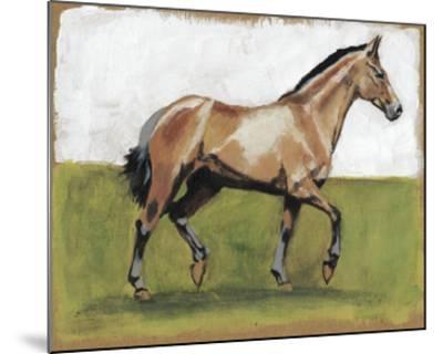 Equestrian Studies III-Naomi McCavitt-Mounted Giclee Print
