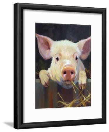 Farm Club I-Carolyne Hawley-Framed Art Print