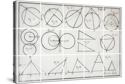 Geometry-Chris Dunker-Stretched Canvas Print