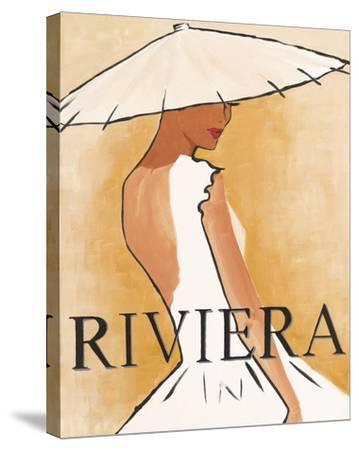 Riviera-Juliette McGill-Stretched Canvas Print