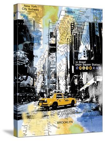 Urban Sights III-Alan Lambert-Stretched Canvas Print