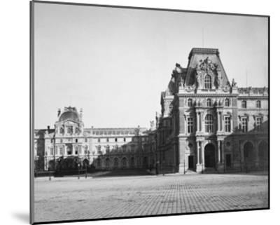 Paris, 1859 - Mollien Pavilion, the Louvre-Gustave Le Gray-Mounted Art Print
