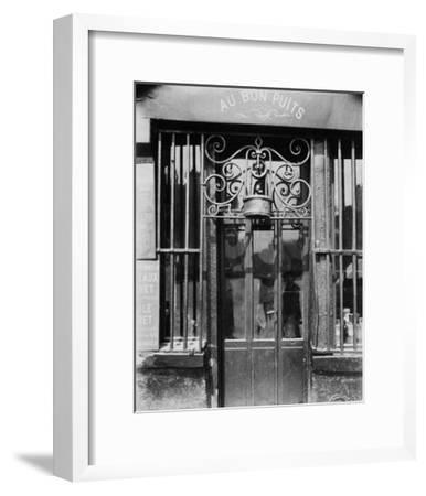 Paris, 1901 - Au bon puits, rue Michel Le Conte-Eugene Atget-Framed Art Print