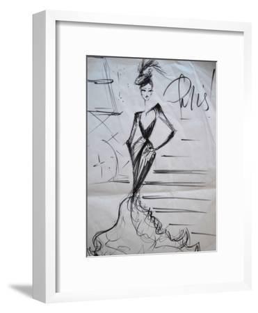 A Night in Paris!-Cara Francis-Framed Art Print