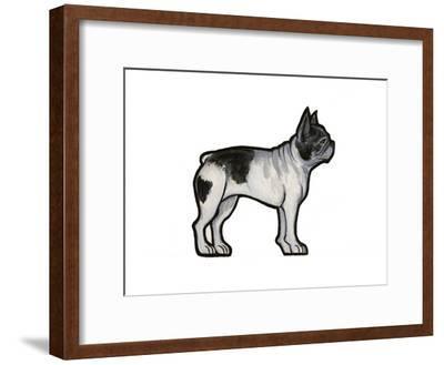 French Bulldog-Sally Pattrick-Framed Art Print