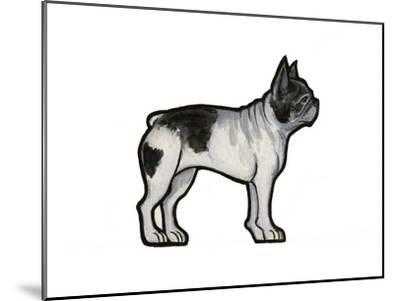 French Bulldog-Sally Pattrick-Mounted Art Print